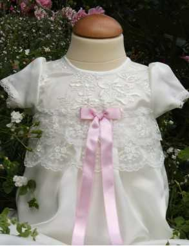 Dopklänning för flickebarn
