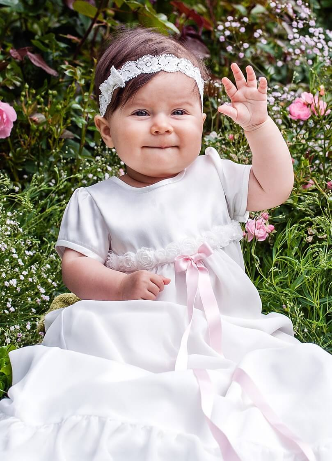 Dåpskjole Grace-Rose