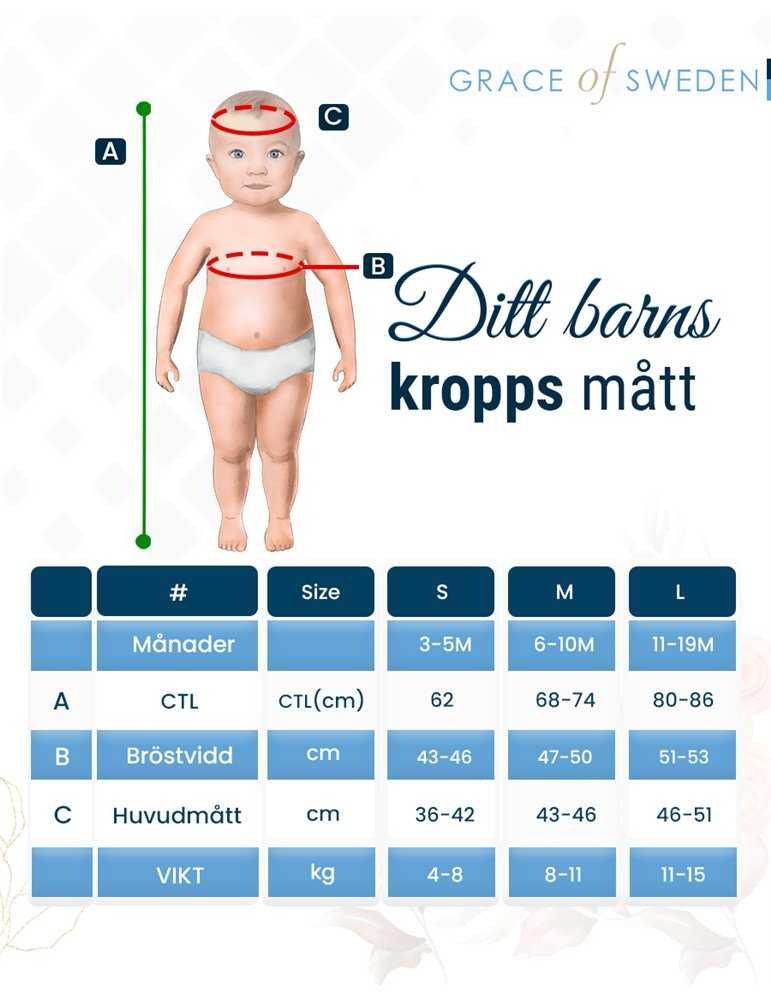 Dåpskjole med luksuriøst blondereskjørt i fullt bilde