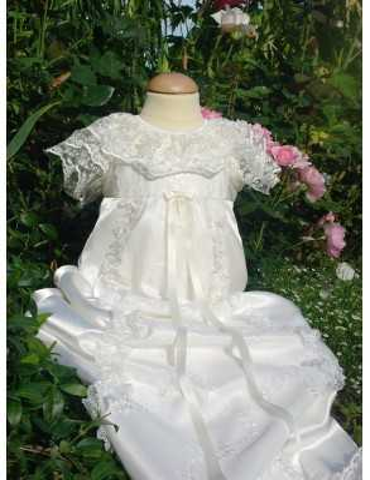luksuriøs lang kjole