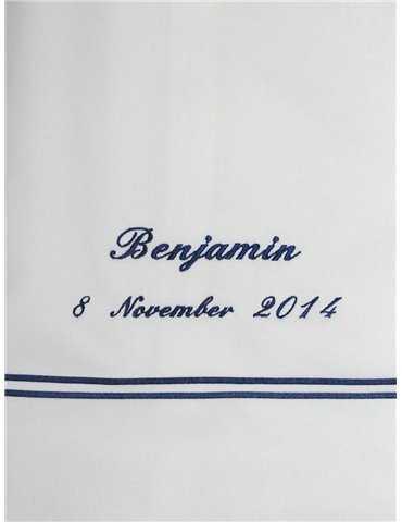 Sjømannskostyme for gutter for dåp
