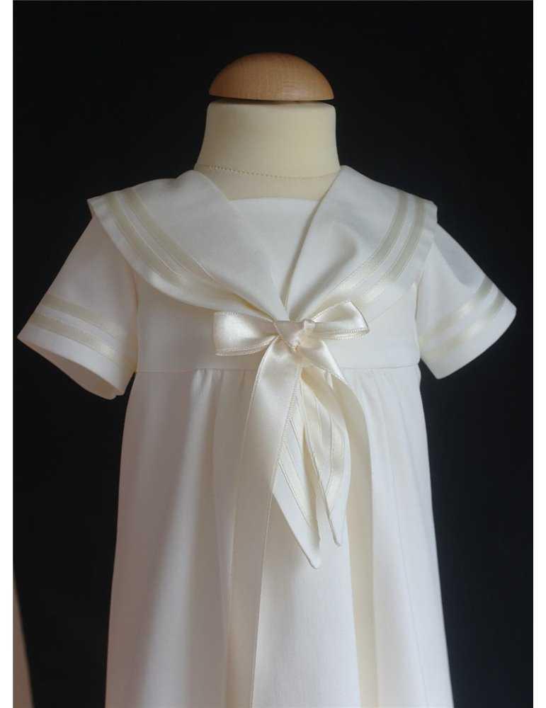 Dåpskjole til liten babyjente